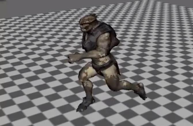 Imagem destacada do curso Animando a corrida de um personagem com o Maya