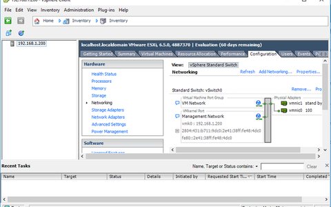 Configurando Switches virtuais no ESXi – part. 01