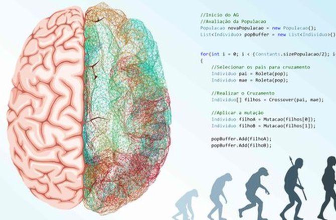 Imagem destacada do curso Curso Inteligência Artificial: Algoritmos Genéticos