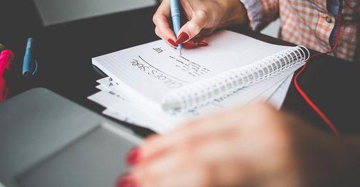 Como escrever suas metas e tirá-las do papel