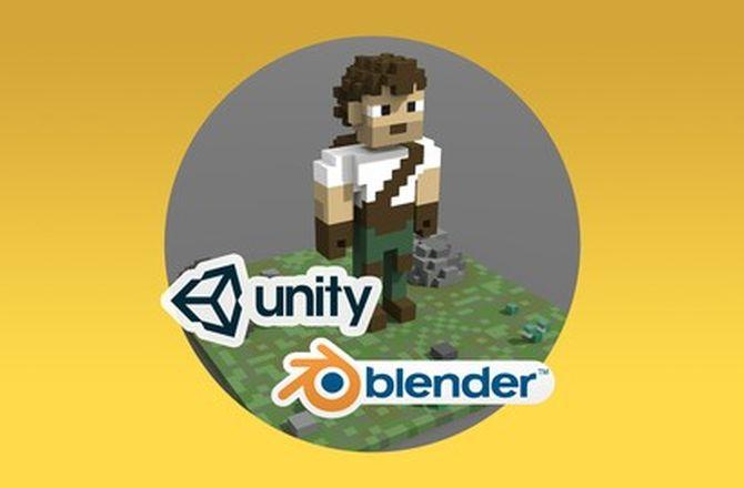 Curso completo de MagicaVoxel + interatividade em Unity 3D