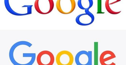 A evolução da logo do Google ao longo do tempo