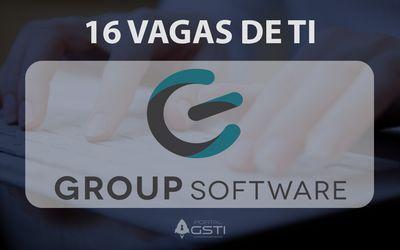 16 Vagas de TI | Group Software