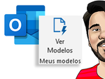 [Novo vídeo] Usando modelos de textos prontos a partir do App no #Microsoft #Outlook