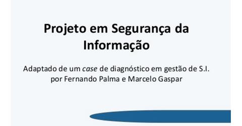 Projeto em Segurança da Informação - Portal GSTI e6a36de439