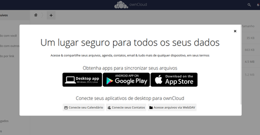 Owncloud X no Mint 20