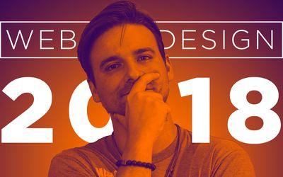 5 tendências de web design para 2018