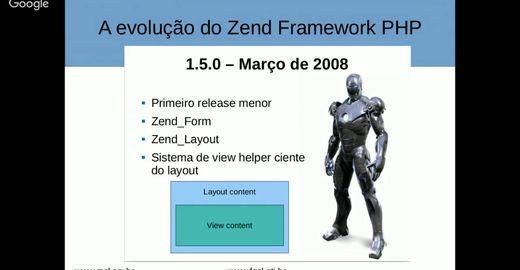 Zend Framework 3 PHP: Palestra com Flávio Lisboa
