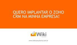 Curso Gratuito Implementação do Zoho CRM