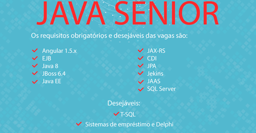 Vaga de Desenvolvedor Java - Brasília