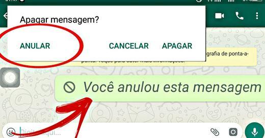 Já estava na hora! Whatsapp libera função de apagar mensagens enviadas