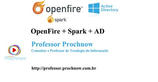 Openfire e Spark + integração com AD