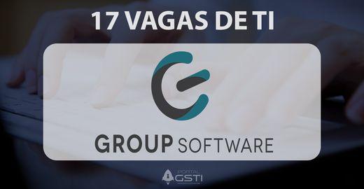 17 Vagas de TI na Group Software