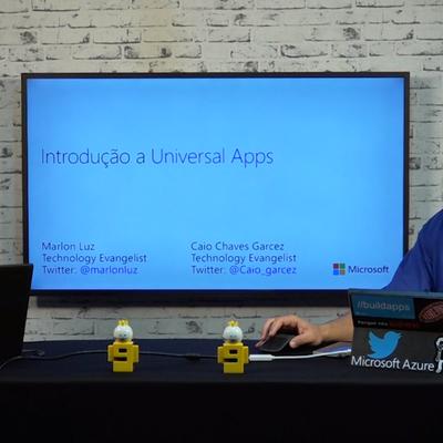 Curso Gratuito Introdução a Universal Apps