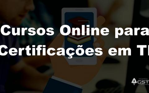 Cursos Online para Certificações em TI