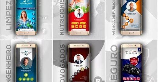 Aplicativos para Criar cartões de visitas Interativos