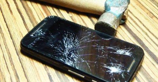 Tela de celular vai se regenerar sozinha