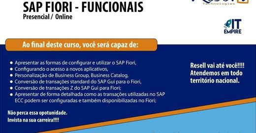 SAP FIORI - FUNCIONAIS