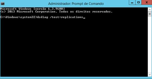 Verificando o status da replicação do Active Directory (AD)