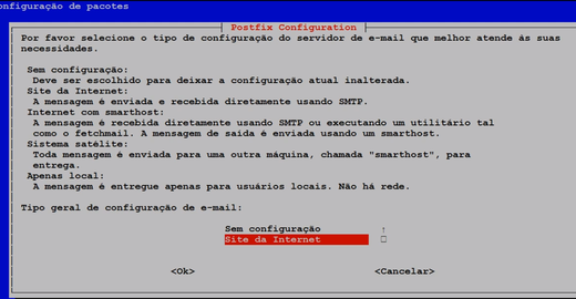 Zabbix Server - Tipo de Mídia: Gmail