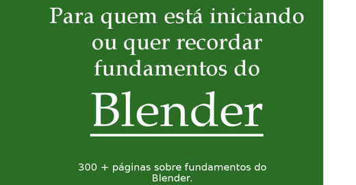 Ebook Fundamentos do Blender