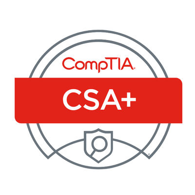 Curso Certificação CompTIA Cybersecurity Analyst CSA+ (CS0-001)