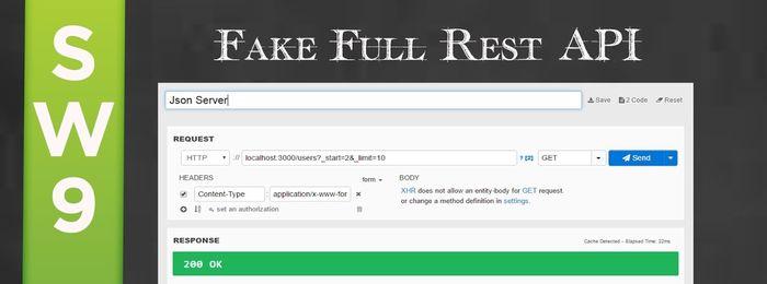 Json Server - Fake Full Rest API - Portal GSTI