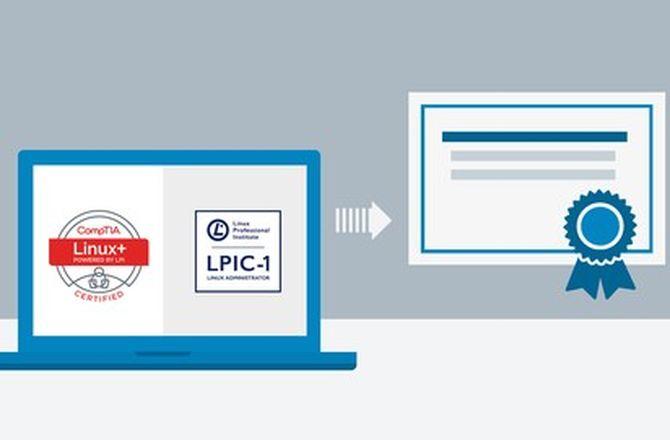 Imagem destacada do curso Curso Preparatório para Certificação Linux LPIC-1 e CompTIA Linux+
