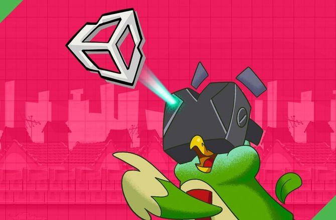 Imagem destacada do curso Realidade Aumentada em Unity3D - Jogo de Aventura