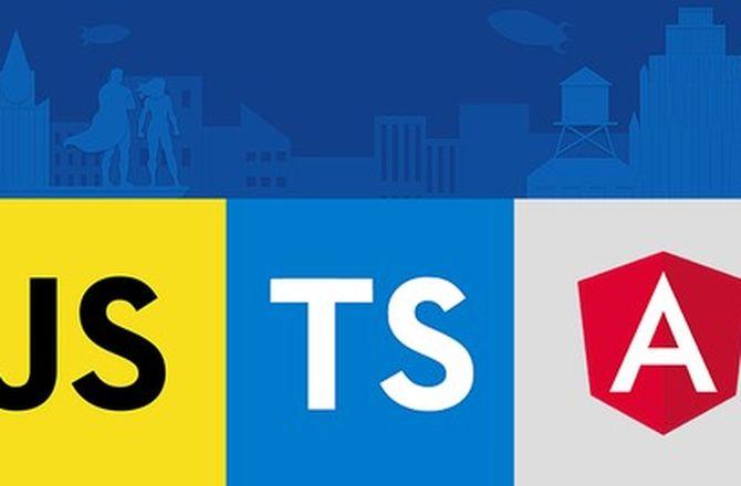 Imagem destacada do curso Curso de Desenvolvimento WEB com ES6, TypeScript e Angular 4