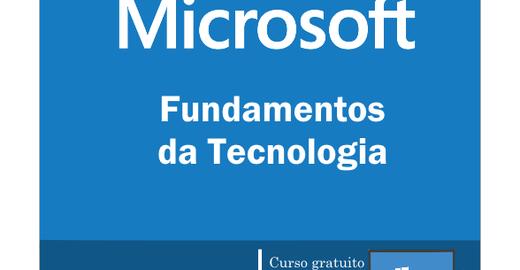 Curso Fundamentos de Tecnologia Gratuito com Certificado