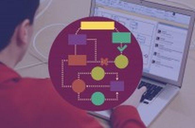 Imagem destacada do curso Curso BPMN : Modelagem de Processos com Bizagi
