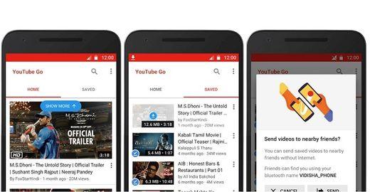 Youtube GO foi lançado no Brasil