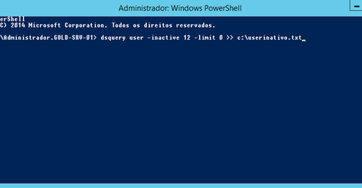 Identificando contas de usuários e computadores inativas no Active Directory