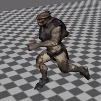 Animando a corrida de um personagem com o Maya