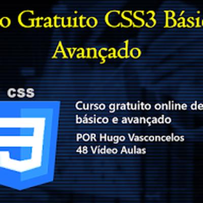 Curso Gratuito CSS3 Básico e Avançado