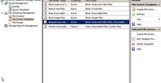 Servidor de Arquivos Inteligente - 3/5: Filtro/Bloqueio de Arquivos