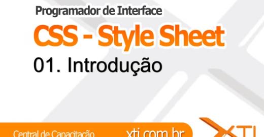 Curso de CSS Gratuito Pela XTI