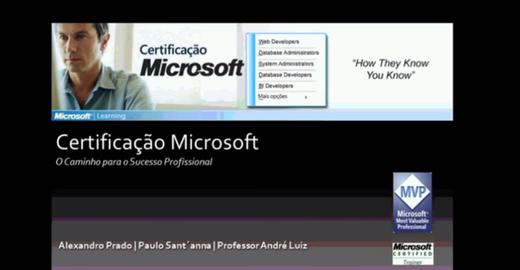 Certificações Microsoft e o Mercado de Trabalho: vídeo
