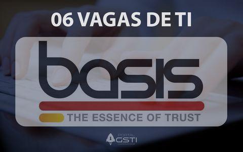 06 Vagas de TI | Basis Tecnologia
