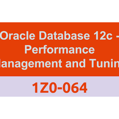 Curso Certificação Oracle Performance e Tuning 1z0-064