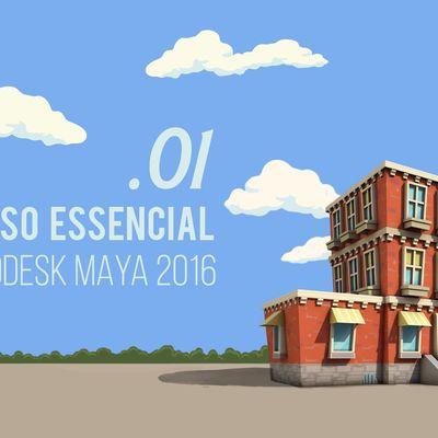 Curso Gratuito AutoDesk Maya 2016/2017 | DD Tutoriais
