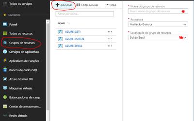 Microsoft Azure - Grupo de Recursos