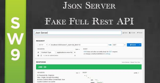 Json Server - Fake Full Rest API