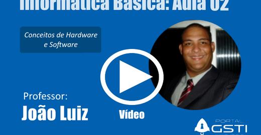 Informática Básica Aula 02: Conceitos de Hardware e Software
