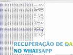 Análise forense de memória: recuperar chats, imagens e conversas deletadas no WhatsApp