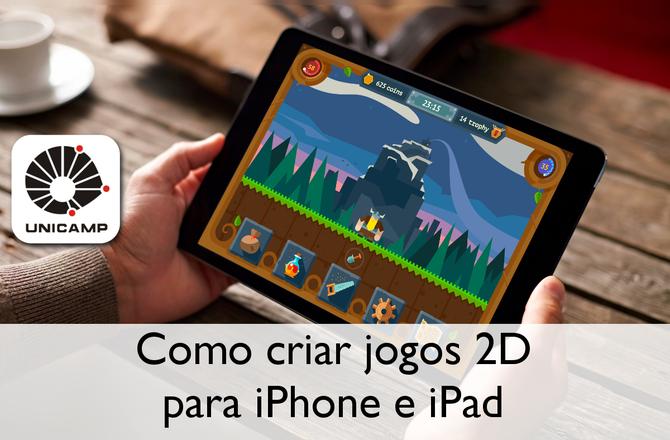 Imagem destacada do curso Curso como criar jogos 2D para iPhone e iPad