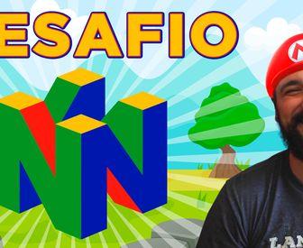 Desafio: criar o logotipo do Nintendo64 com CSS