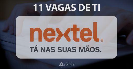 11 Vagas de TI Nextel Brasil