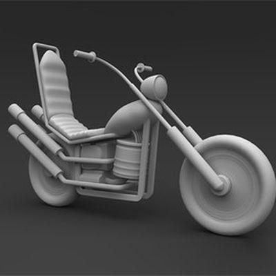 Curso Maya 3D Modelando uma Moto Cartoon